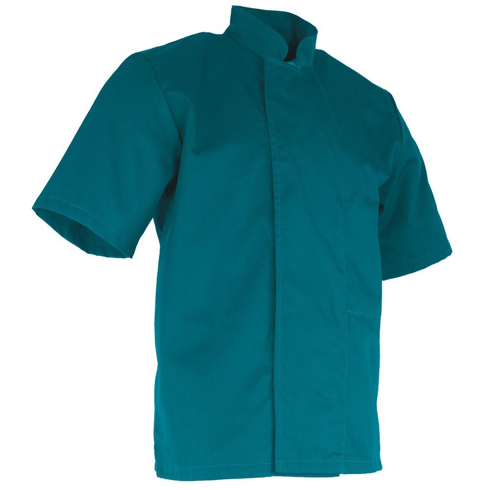 Veste de cuisine manches courtes LMA ARACHIDE - Bleu