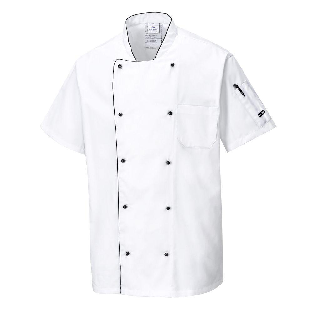 Veste de cuisine ventilée Portwest - Blanc