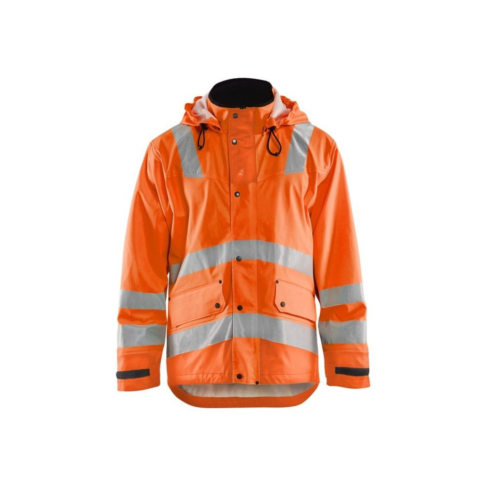 Veste de pluie étanche Blaklader haute visibilité - Orange