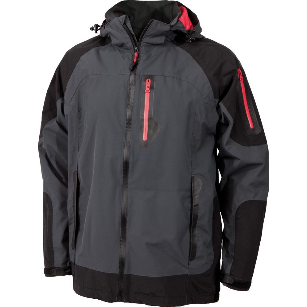 Veste de pluie imperméable Albatros PASCAL - Gris / Noir