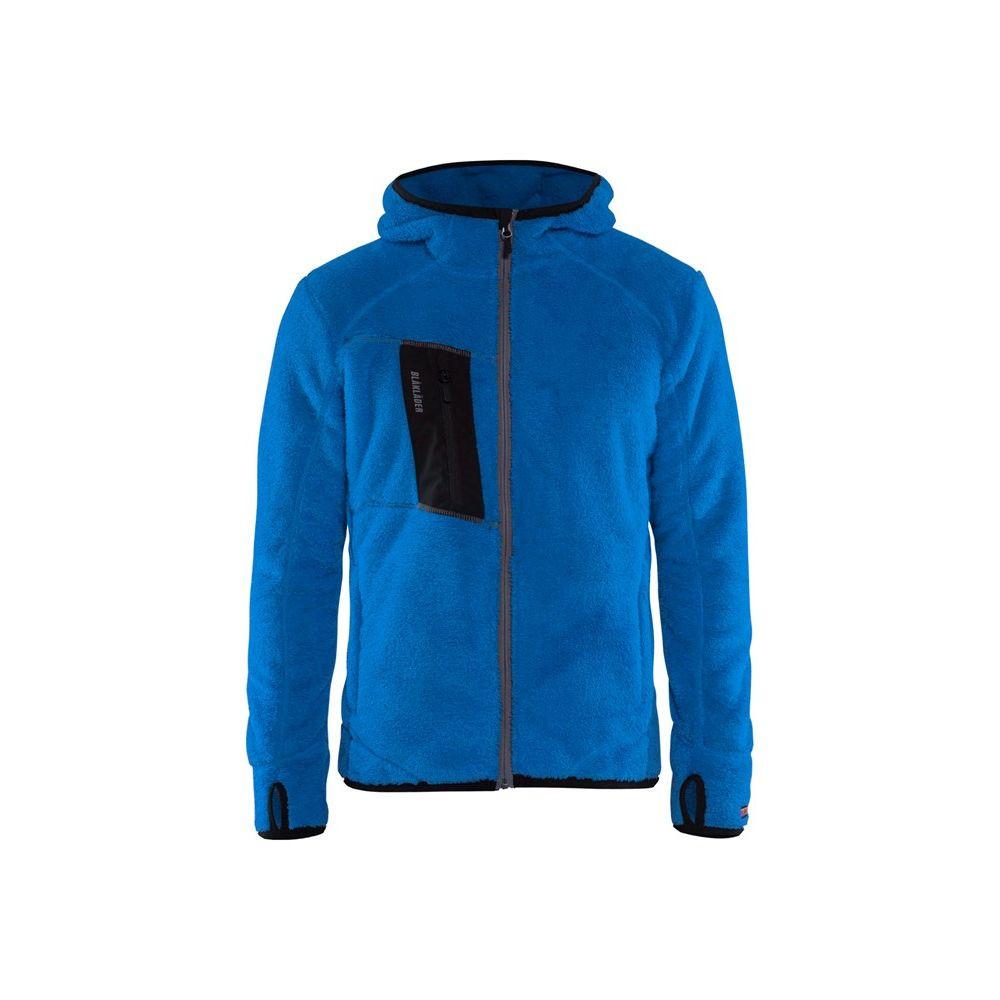 Veste en moumoute Blaklader à capuche - Bleu