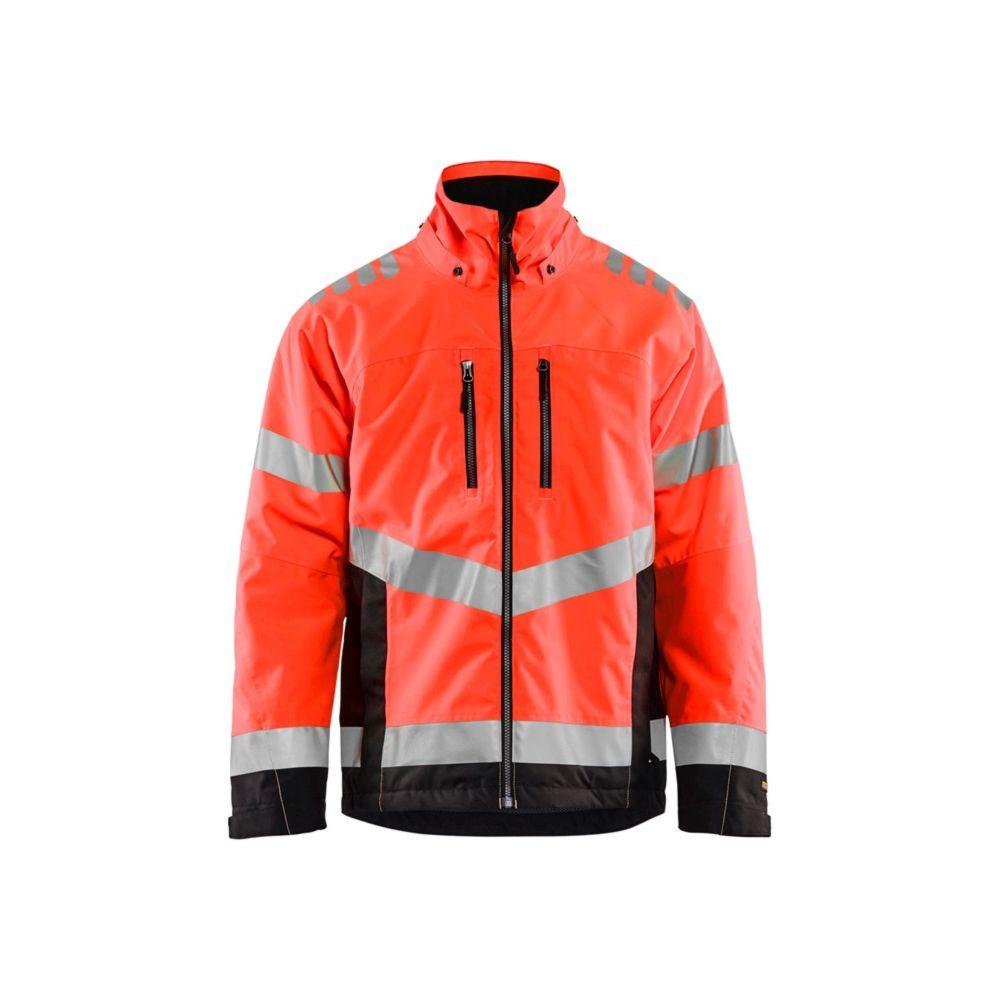 Veste hiver haute visibilité Blaklader EN20471 CLASSE 3 - Rouge / Noir