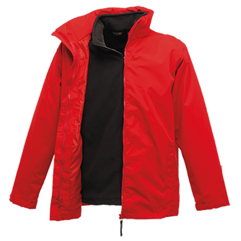 Veste imperméable 3 en 1 Regatta Professional CLASSIC - Rouge / noir