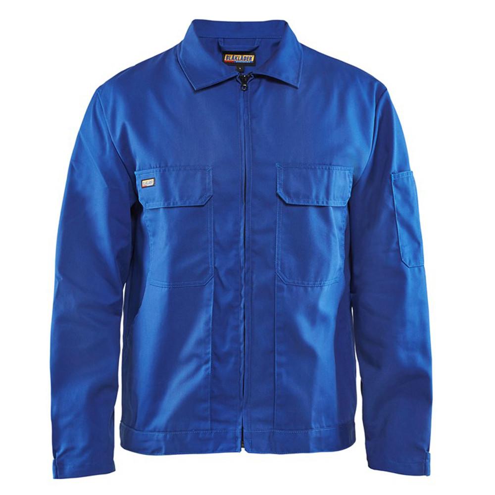 Veste industrie Blaklader Polycoton - Bleu Royal