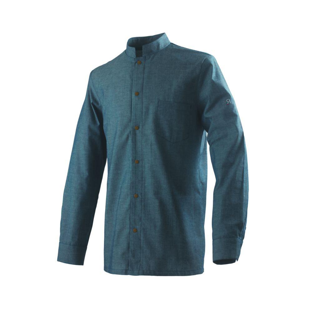 Veste de cuisine manches longues Robur BOVI - Bleu