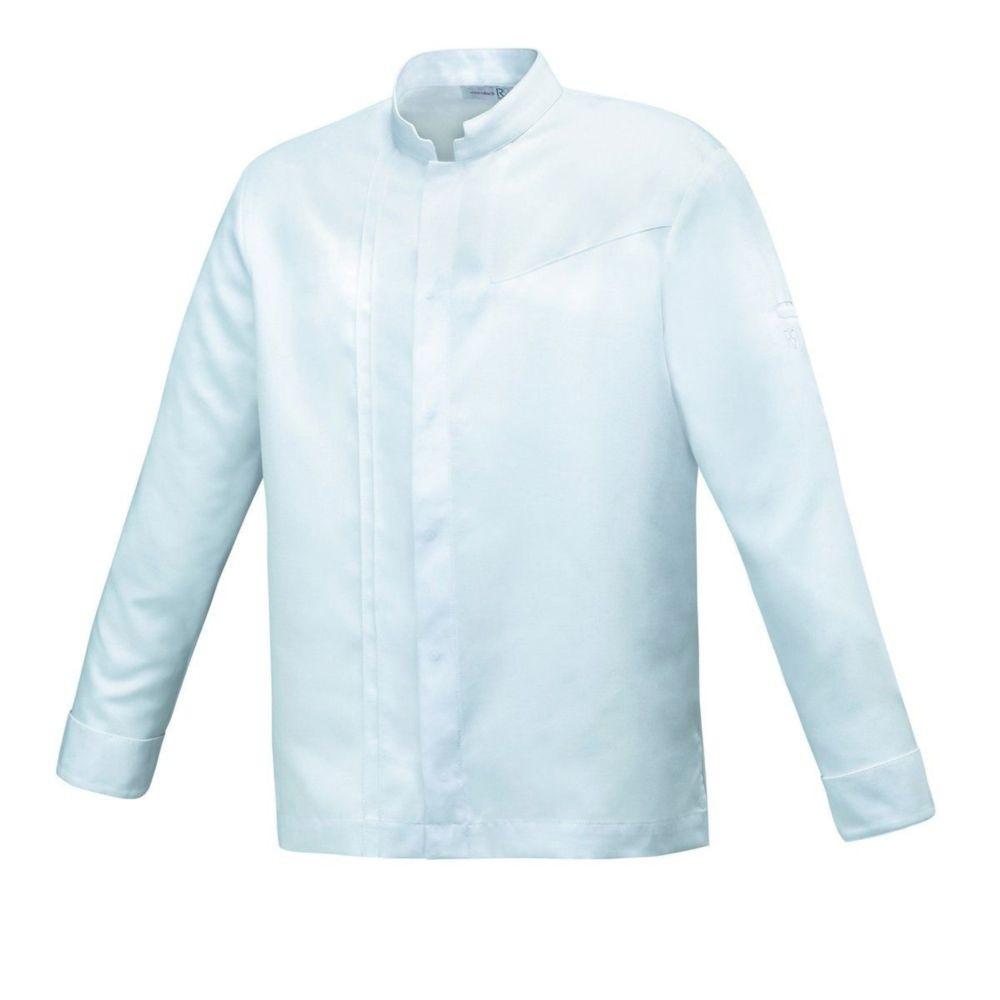 Veste de cuisine manches longues Tencel Robur VALTO - Blanc