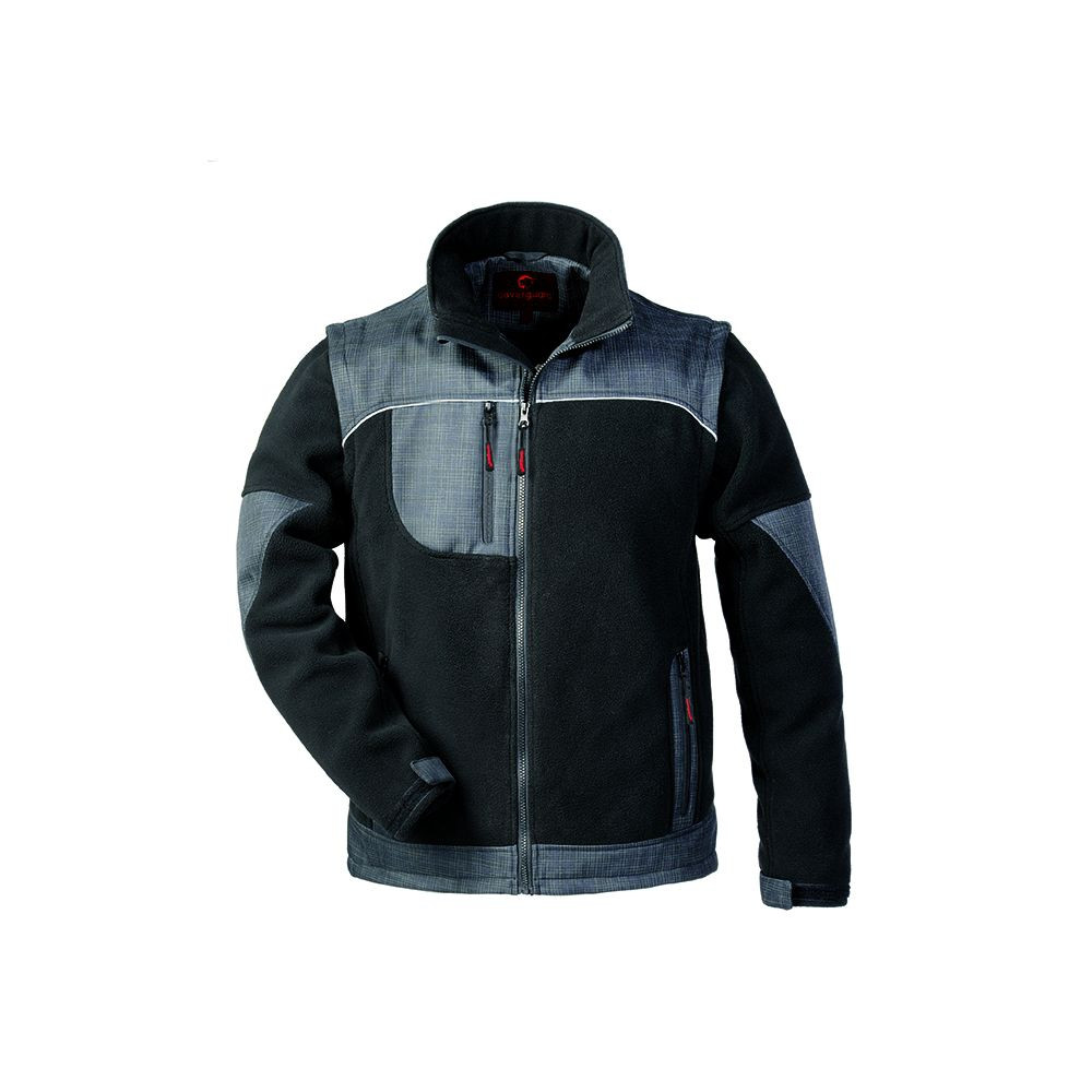 Veste polaire manches amovibles Coverguard  Austru - Noir