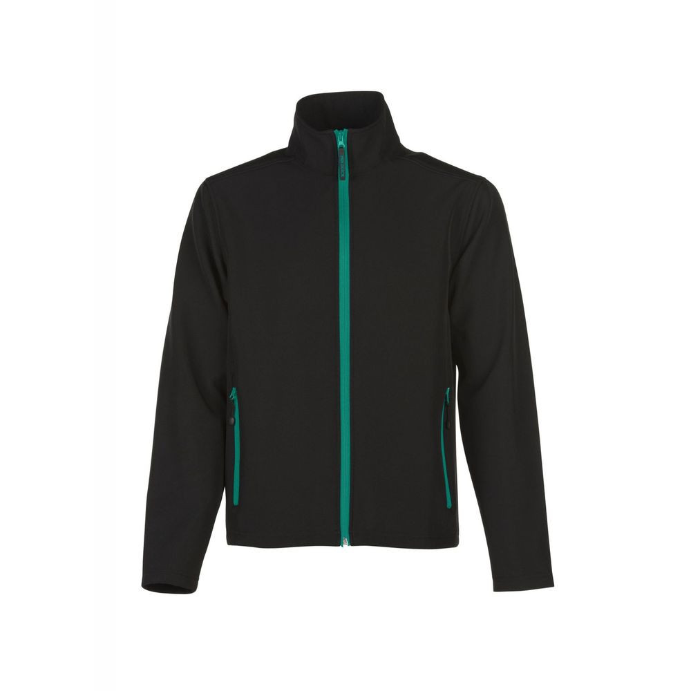 Veste softshell Bicolore Penduick Magellan homme - Veste softshell 2 couches Penduick Magellan homme noir vert