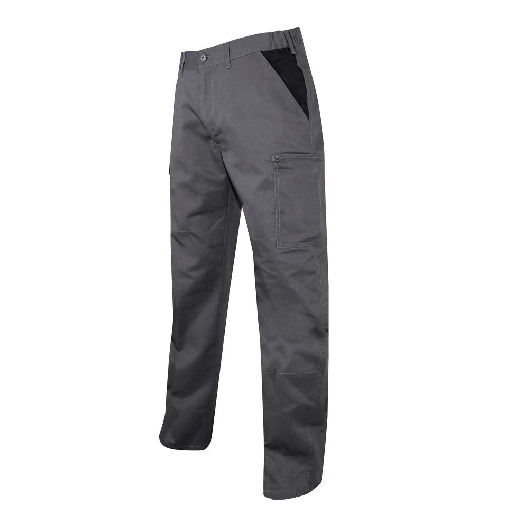 Pantalon multipoches LMA Perceuse - Gris noir
