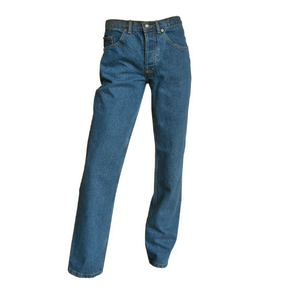 Jeans 5 poches western Chicago LMA - Bleu