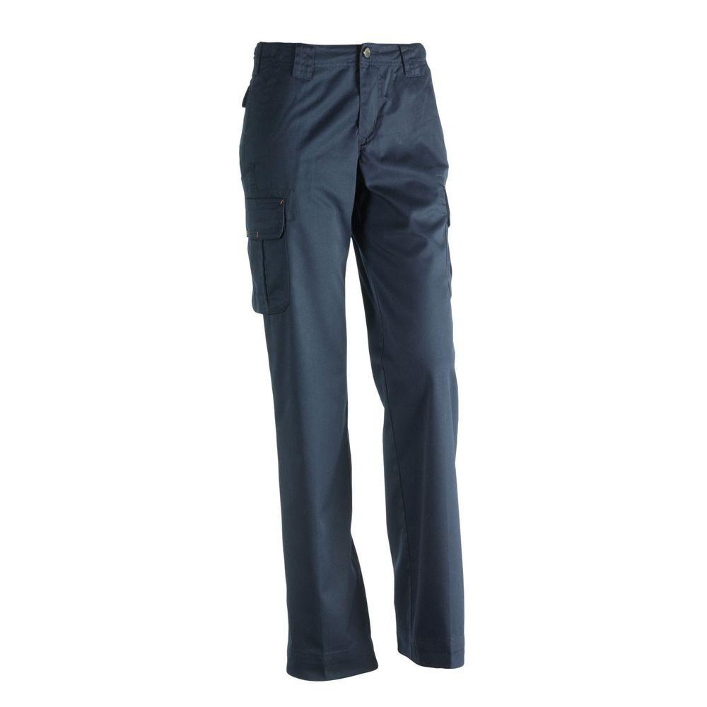 Pantalon de travail pour femme Athena Herock - Bleu Marine