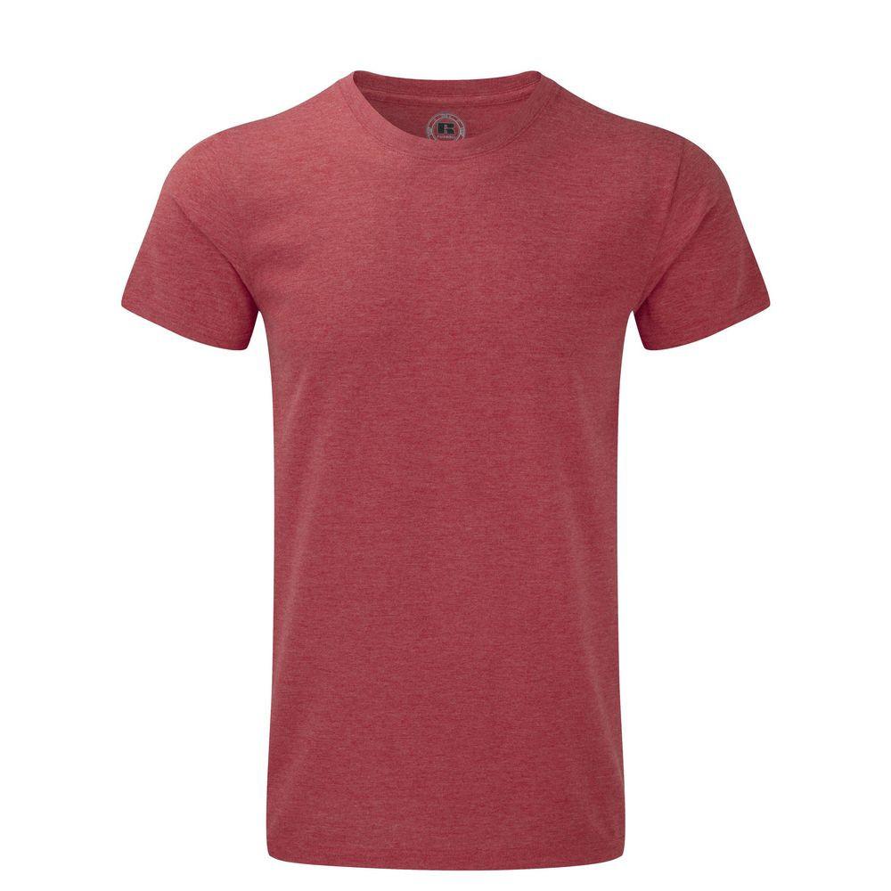 T-shirt de travail HD Polycoton sublimable homme Russell - Rouge
