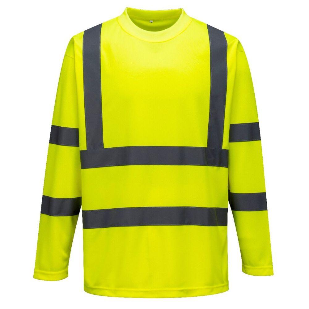 Tee-shirt haute visibilité Portwest manches longues - Jaune