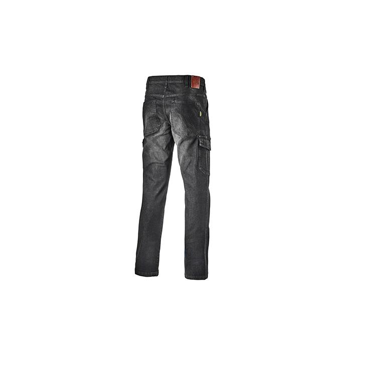 factory price 8941f 94ee4 jean de travail diadora cargo denim noir dos.jpg