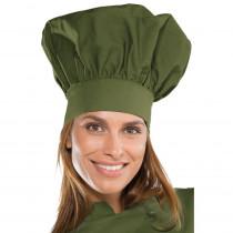 Toque de chef cuisine Isacco Vert Militaire
