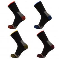 Chaussettes de travail coton LMA ELIOS (Lot de 4 paires)