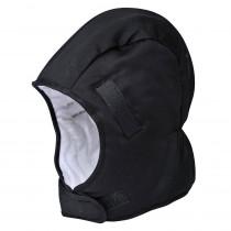 Doublure hiver pour casque 100% coton Portwest noir