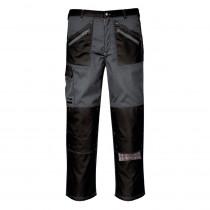 Pantalon de travail Chrome Portwest gris noir