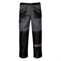 Pantalon de travail Chrome Portwest gris noir