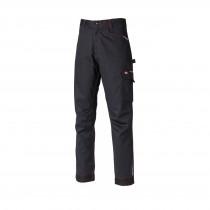 Pantalon de travail Dickies Lakemont noir rouge