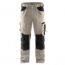 Pantalon de travail Blaklader artisan sans poches flottantes polycoton