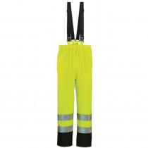 Pantalon de pluie à bretelles haute visibilité Coverguard Harbor
