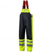 Pantalon de pluie haute visibilité à bretelles Helly Hansen ALNA