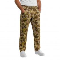 Pantalon de cuisine Camouflage Kaki Isacco Mimetico Unisexe