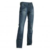 Jeans de travail Stretech 5 poches LMA Goudron