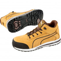 Chaussure de sécurité montante 100% non métaliique Puma Dash Wheat ...