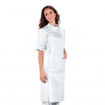 Blouse blanche dentiste femme Isacco Dentista 100% coton