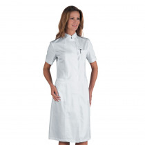 Blouse blanche médicale femme Isacco Camice Ponza manches courtes 1...