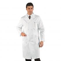 Blouse blanche médicale homme Isacco Medico 100% coton