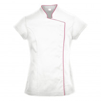 Blouse blanche pharmacie Wrap Portwest