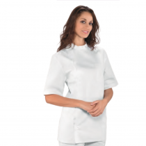 Blouse dentiste femme Isacco manches courtes