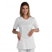 Tunique médicale blanche femme Isacco Delhi