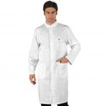 Tunique blanche homme Isacco manches longues