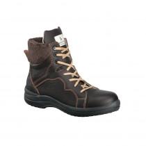 Chaussure de sécurité femme haute Lemaitre S3 Brunelle SRC brune