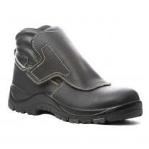 Chaussure de sécurité montante sans métal Coverguard Quandilite S3 HRO HI SRC face