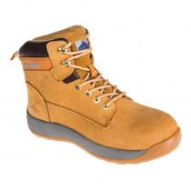 Chaussures de sécurité montantes Portwest Brodequin Constructo Nubuck S3 HRO - Miel 1