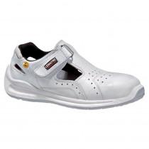 Sandales de sécurité Lemaitre Ampera S1 ESD SRC Blanches