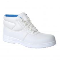 Chaussures de cuisine Portwest Albus à lacets S2 - Blanc