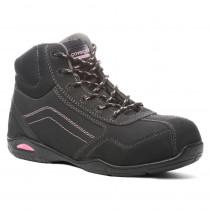 Chaussures de sécurité montantes femme Coverguard Rubis S3 SRA HRO côté 1