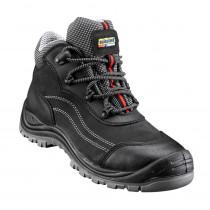 Chaussures de sécurité mi-hautes Blaklader Cuir Nubuck S3