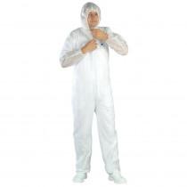 Combinaison de protection avec cagoule Tidy Professional White SPP ...