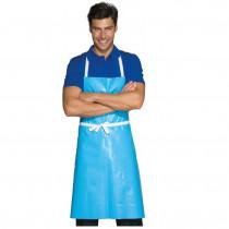 Tablier de cuisine ciré bleu Isacco Pettorina
