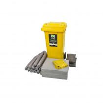 Kit absorbant de maintenance 120 litres Portwest gris