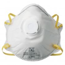 Masque coque Sup Air à usage unique FFP1 D SL avec valve (boite de 10)