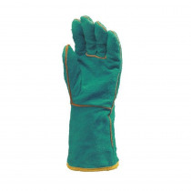 Gants soudeur cuir Eurotechnique 2630 (lot de 12 paires de gants)