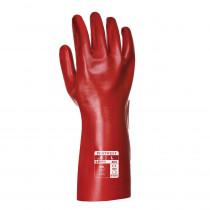 Gants PVC Rouge Portwest 35 cm taille 10/XL